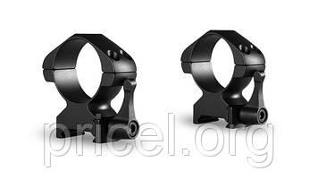Кольца Hawke Precision Steel 30 мм, weaver, высокие, быстросьёмные (23017)