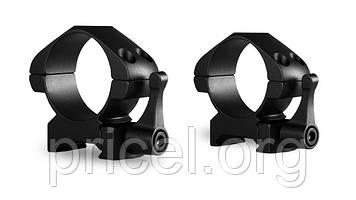 Кольца Hawke Precision Steel 30 мм, weaver, средние, быстросьёмные (23016)