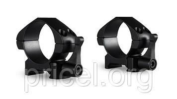 Кольца Hawke Precision Steel 30 мм, weaver, низкие, быстросьёмные (23015)