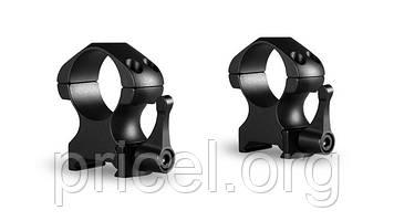 Кольца Hawke Precision Steel 1 дюйм, weaver, высокие, быстросьёмные (23012)