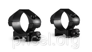 Кольца Hawke Precision Steel 30 мм, weaver, низкие (23005)