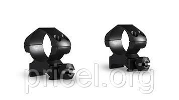 Кольца Hawke Precision Steel 1 дюйм, weaver, средние (23001)