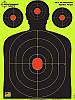 Грудная мишень для стрельбы флюрисцентная Splatterburst 30х45 см (12x18 дюймов), фото 2