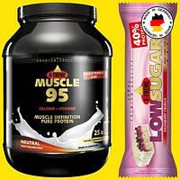 Комплексный 95% премиум протеин ИНКОСПОР MUSCLE 95 Без жира и углеводов! (750 г) Нейтральный вкус