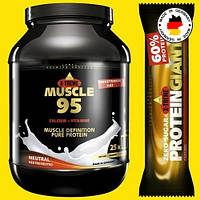 Комплексный 95% премиум протеин ИНКОСПОР MUSCLE 95 Без жира и углеводов! (750 г) Без вкуса