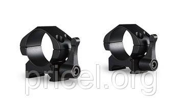 Кольца Hawke Precision Steel, 1, weaver, низкое, быстросьёмное (23010)