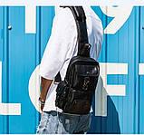Мужская сумка на плечо, фото 4