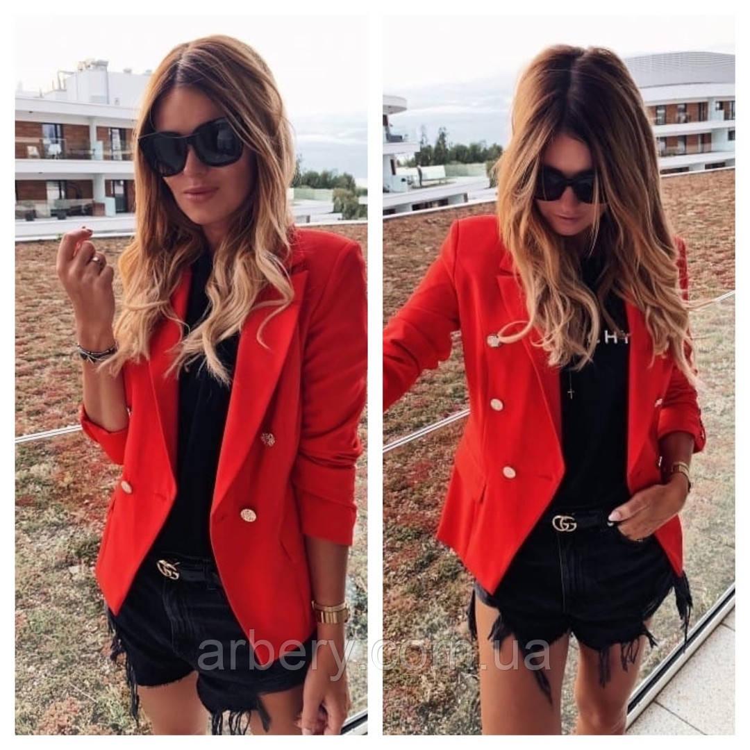 Женский стильный пиджак Balmain