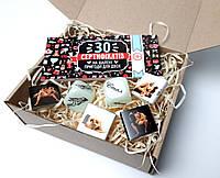 """Игра-набор для взрослых """"Исполнение желаний"""": сертификат на 30 эротических желаний, кубики и камасутра"""