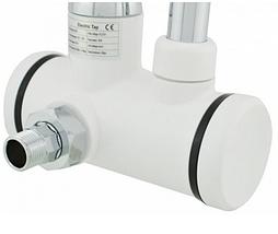 Нагреватель электрический DELIMANO, проточный нагреватель для воды с индикатором (нижнее подключение), фото 2
