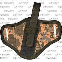 """Кобура поясная """"лепешка""""  для  Retay G17/19 , синтетическая , пиксель"""
