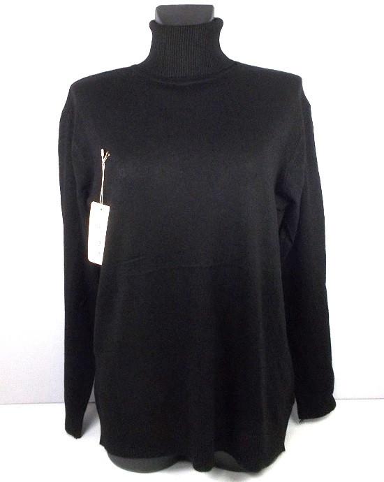 Гольф свитер кашемир 6677 размер 52-60 черный