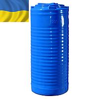 Пластиковая емкость для воды 200 литров вертикальная двух- и однослойная. Пластиковые бочки 200 л. 0,2 куба.
