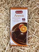 Шоколад Dolciando Arancia черный  100 г