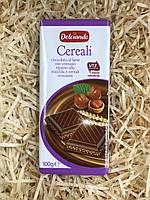 Шоколад Dolciando Cereali черный 100г