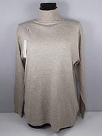 Гольф свитер кашемир 6677 размер 52-60 бежевый