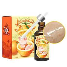 УЦЕНКА! Сыворотка с высоким содержанием витамина С Elizavecca Witch Piggy Hell-Pore Vitamin C 30% Real Ample