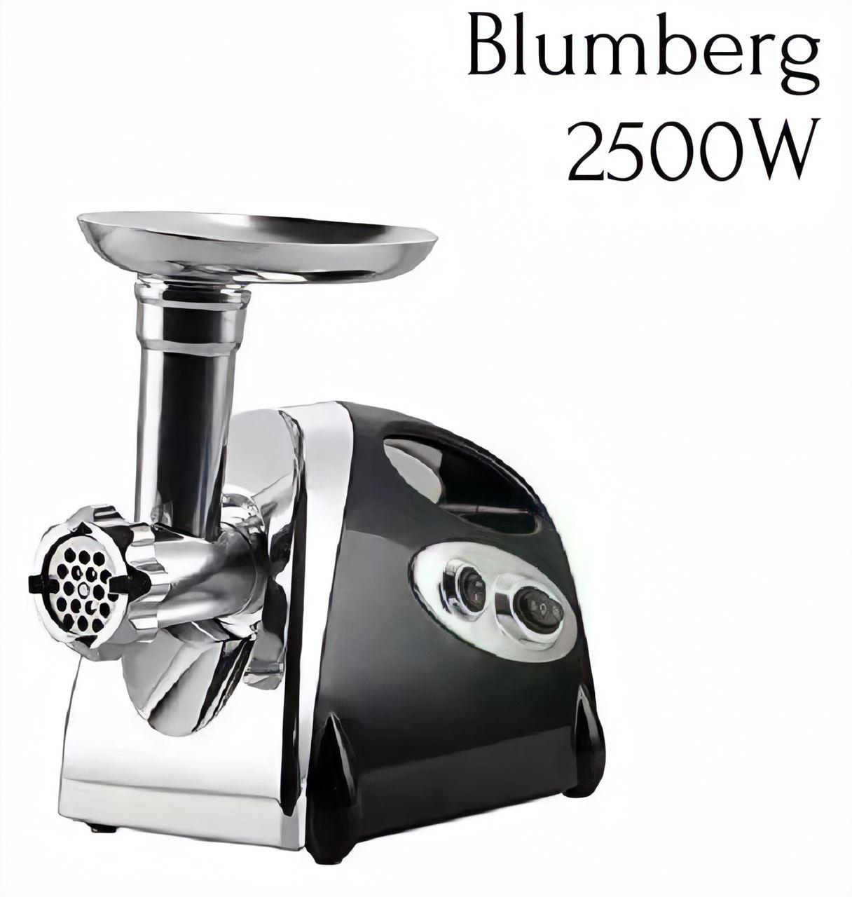 М'ясорубка Blumberg BM-G30 2500W соковижималка Чорна