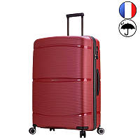 Большой чемодан на 4-х колесах Snowball 94103 L из полипропилена