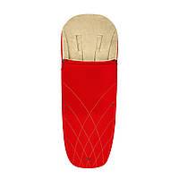 Чехол для ног Cybex  Platinum / Autumn Gold burnt red