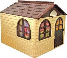Игровой домик со шторками Doloni Toys 02550-2