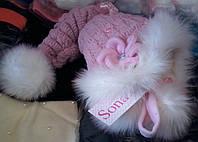 Детская зимняя шапка  Sonata ,возраст 2-5 лет опт и розница S207