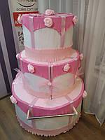 Шоу торт на колесах комбинированный