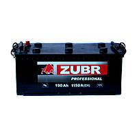 Аккумулятор ZUBR Professional -190 +левый (1150 пуск)