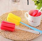 ОПТ Губка с ручкой для мытья стаканов и кружек, фото 3