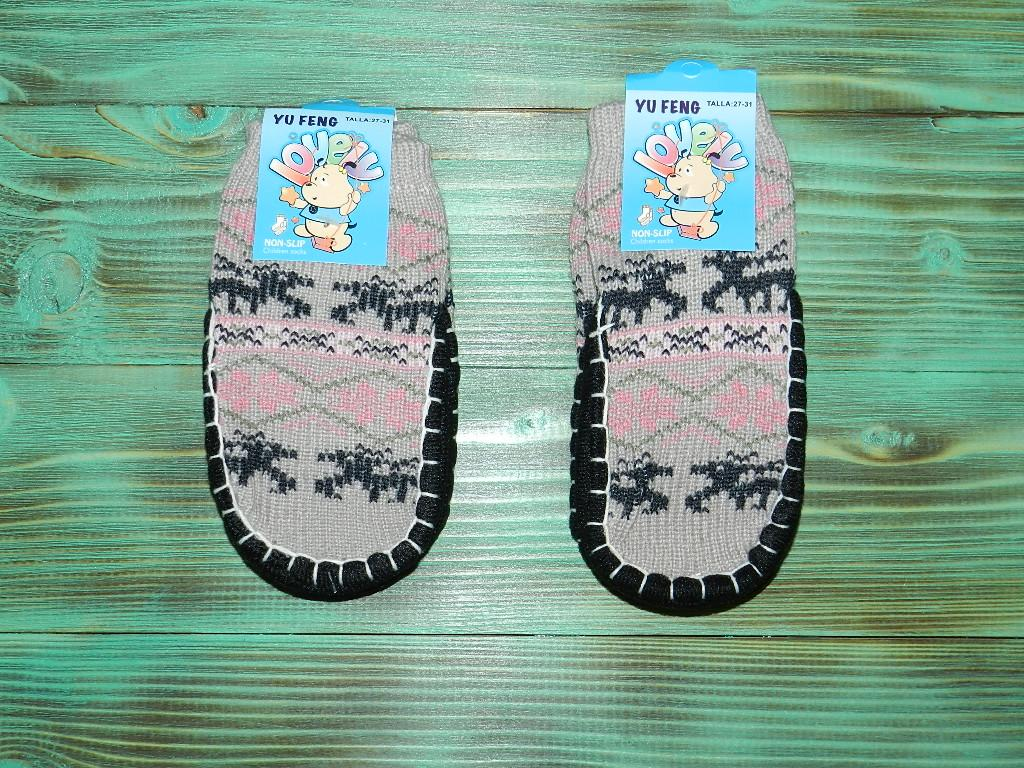 Шкарпетки з підошвою 14 см ( 22-23 р.)