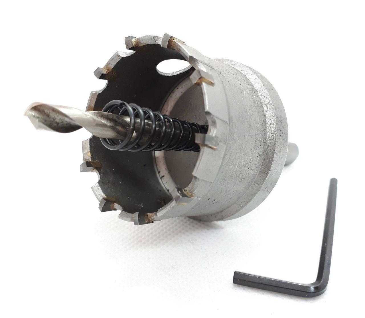 Коронка по металлу универсальная с твердосплавными напайками, Rapide 80 мм (RU-80)