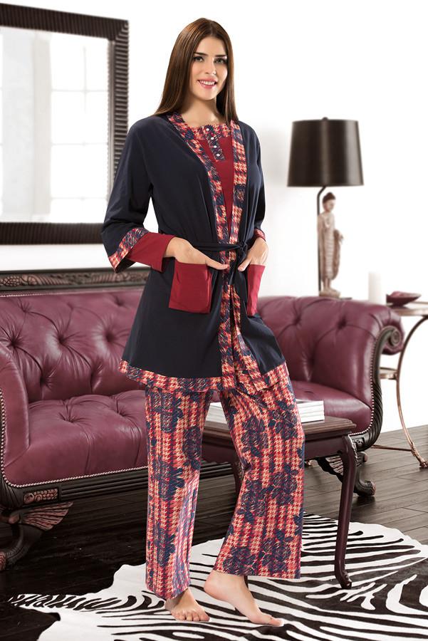 Пижама женская тройка