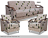 "Комплект ""Фристайл"" диван и 2 кресла"