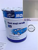 Базовая эмаль (металлик, UNI) MOBIHEL 280 - МИРАЖ, 1л
