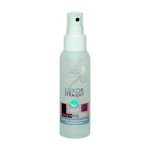 Спрей для выпрямления волос с термозащитой Elea Professional Luxor Straight Hair Straightening Spray 240 мл