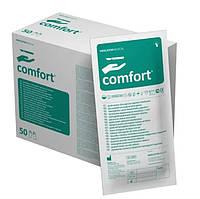 Перчатки латексные хирургические опудренные стерильные (50пар/уп.) Comfort Размер 8