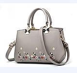 Женская сумочка с вышивкой, фото 4