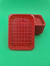 Упаковка для суші ПС-63 Червона +ПС63К (50 шт)
