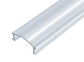 Рассеиватель из поликарбоната матовый (LED Profile Plastic diffuser)