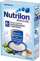 Каша молочная Nutrilon мультизлаковая с фруктами нутрилон, 225 г