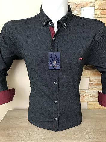 Мужская утепленная рубашка Gold Milano, фото 2