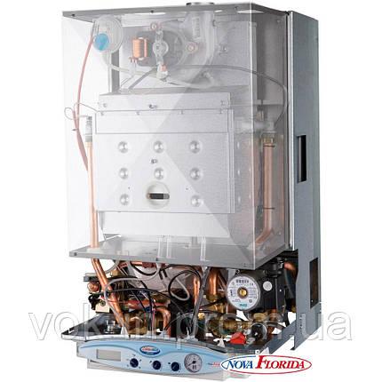 Газовый котел с встроенным бойлером Nova Florida Libra Dual Line Tech BTFS 28 арт. CLJU32BK28, фото 2