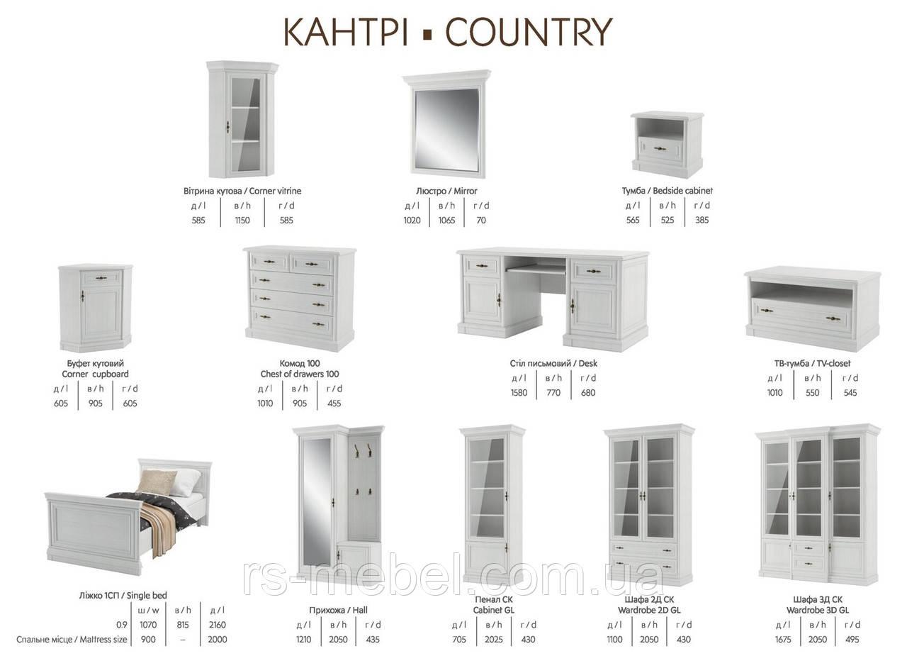 Модульна система Кантрі (Світ Меблів)