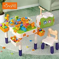 Стол для Lego Duplo Tumama со стулом (трансформер самокат)