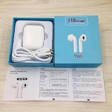 Наушники i15 Max сенсорные Bluetooth 5.0 беспроводные - Белый 44