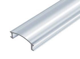 Рассеиватель из поликарбоната прозрачный (LED Profile Plastic clear)