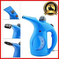 Отпариватель ручной для одежды утюг паровой Аврора А7 Голубой Вертикальные отпариватели Парогенератор 1400 Вт