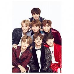Постер BTS большой
