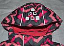 Детская зимняя куртка Зиг-Заг розовая (QuadriFoglio, Польша), фото 4