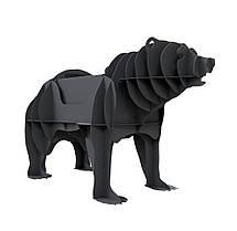 Мангал разборный Медведь 3D, мангалы фигуры животных, мангал для дома и сада декоративный.